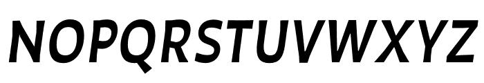 Auster Medium Italic Font UPPERCASE