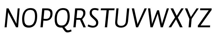 Auto Pro Regular Italic 1 Font UPPERCASE