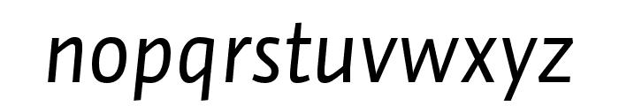 Auto Pro Regular Italic 3 Font LOWERCASE