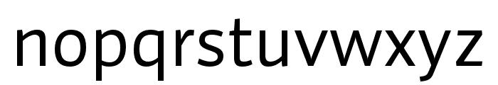 Auto Pro Regular Font LOWERCASE