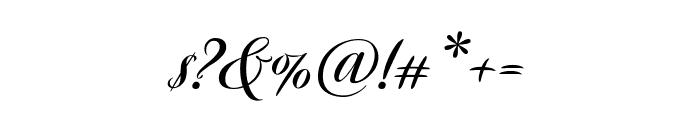 Avalon Bold Font OTHER CHARS