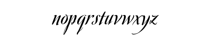 Avalon Bold Font LOWERCASE