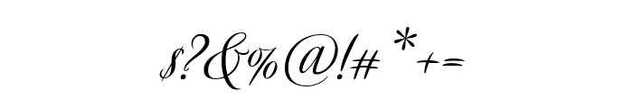 Avalon Medium Font OTHER CHARS