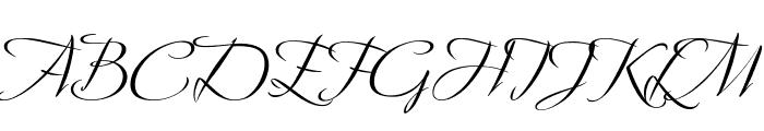 Avalon Medium Font UPPERCASE