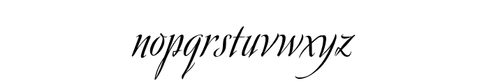 Avalon Medium Font LOWERCASE
