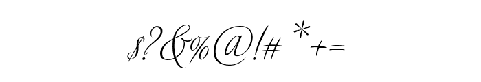 Avalon Regular Font OTHER CHARS