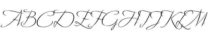 Avalon Regular Font UPPERCASE