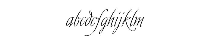 Avalon Regular Font LOWERCASE