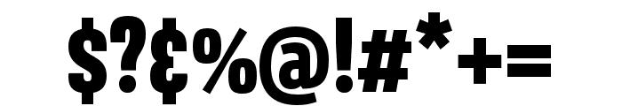Avory I Latin Black Font OTHER CHARS