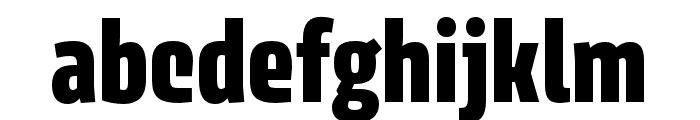 Avory I Latin Black Font LOWERCASE