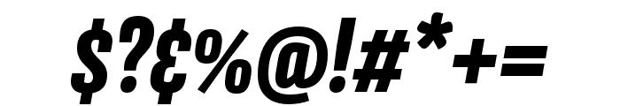 Avory I Latin Extrabold Italic Font OTHER CHARS