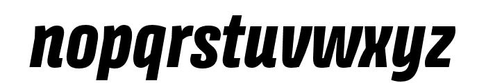 Avory I Latin Extrabold Italic Font LOWERCASE