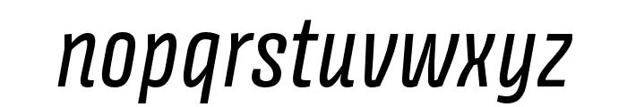 Avory I Latin Italic Font LOWERCASE
