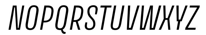 Avory I Latin Light Italic Font UPPERCASE
