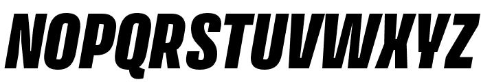 Avory I PE Black Italic Font UPPERCASE
