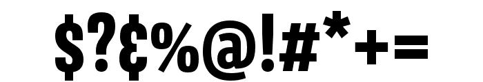 Avory I PE Extrabold Font OTHER CHARS