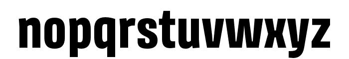 Avory I PE Extrabold Font LOWERCASE