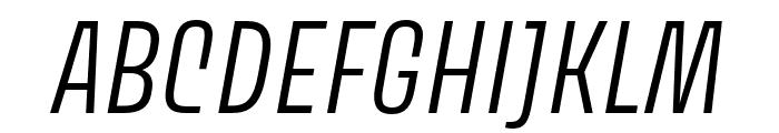 Avory I PE Light Italic Font UPPERCASE