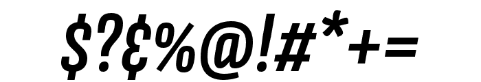 Avory I PE Semibold Italic Font OTHER CHARS