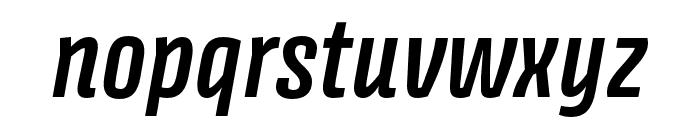 Avory I PE Semibold Italic Font LOWERCASE