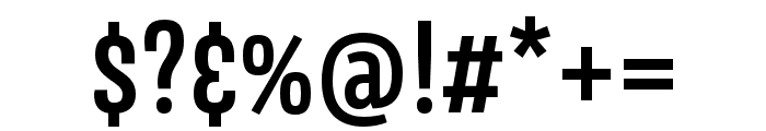Avory I PE Semibold Font OTHER CHARS