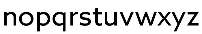 Azo Sans Uber Regular Font LOWERCASE
