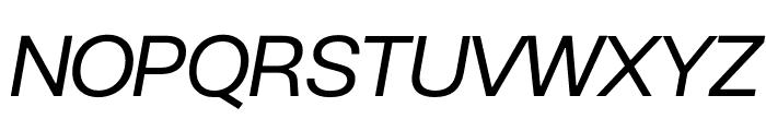 BC Novatica CYR Italic Font UPPERCASE