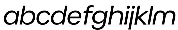 BC Novatica CYR Italic Font LOWERCASE
