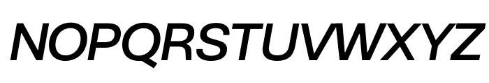 BC Novatica CYR Medium Italic Font UPPERCASE
