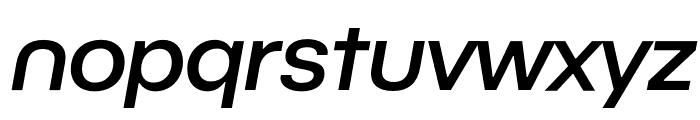 BC Novatica CYR Medium Italic Font LOWERCASE