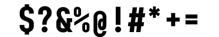 BC Sklonar Bold Font OTHER CHARS
