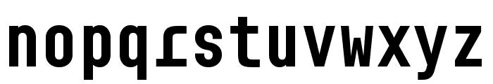BC Sklonar Bold Font LOWERCASE