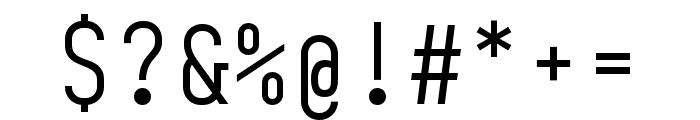 BC Sklonar Light Font OTHER CHARS