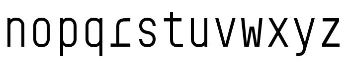 BC Sklonar Light Font LOWERCASE