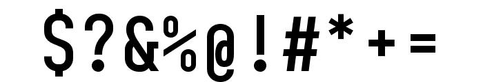 BC Sklonar Medium Font OTHER CHARS