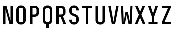 BC Sklonar Medium Font UPPERCASE