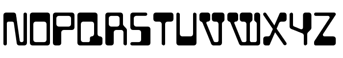 BD Geminis Regular Font UPPERCASE
