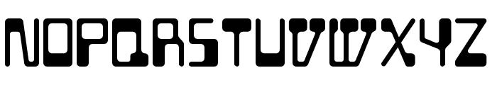 BD Geminis Regular Font LOWERCASE