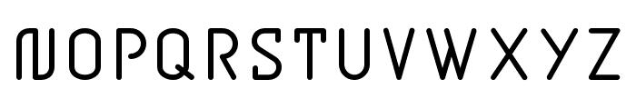 BD Jupiter Regular Font UPPERCASE
