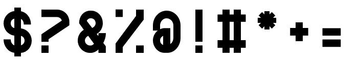 BDRmono 2006 Bold Font OTHER CHARS