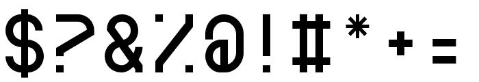 BDRmono 2006 Regular Font OTHER CHARS