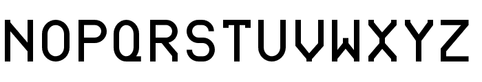 BDRmono 2006 Regular Font UPPERCASE