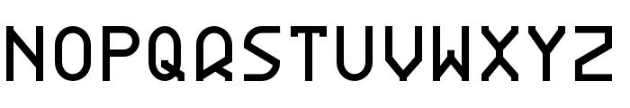 BDRmono 2006 Regular Font LOWERCASE