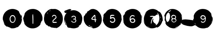 Backspacer OT Square Font OTHER CHARS
