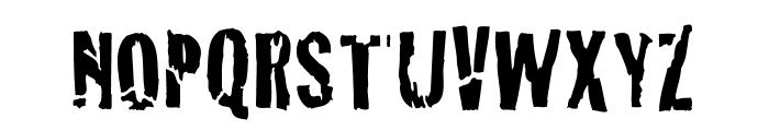BadNeighborhood Openhouse Font UPPERCASE