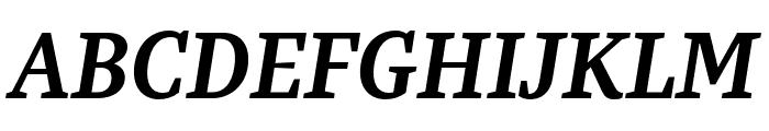 Bagatela BoldItalic Font UPPERCASE