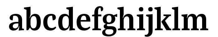 Bagatela Bold Font LOWERCASE