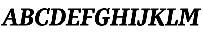 Bagatela DarkItalic Font UPPERCASE