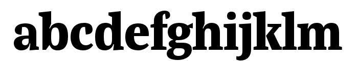 Bagatela Extrabold Font LOWERCASE