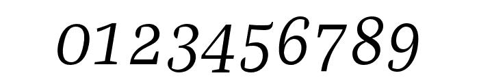 Bagatela LightItalic Font OTHER CHARS